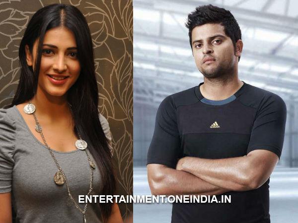 Suresh raina dating actress shruti hassan