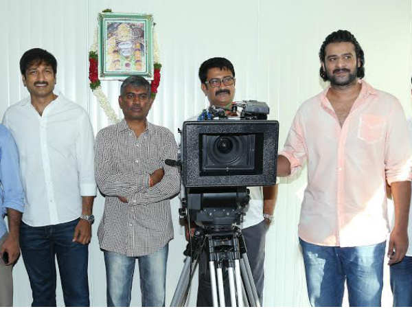 Prabhas At Gopichand's New Film Launch