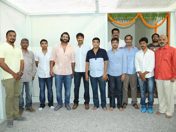 Prabhas, Dil Raju At Gopichand's New Film Launch