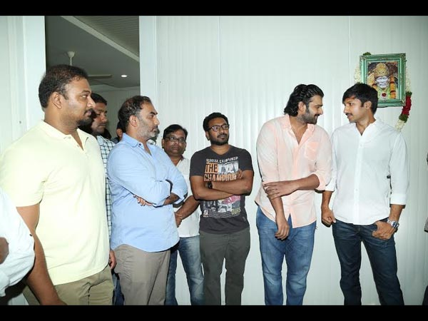 Prabhas Bonding With Gopichand