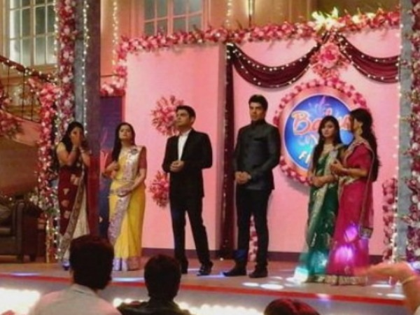 Kapil With Sasural Simar Ka Cast