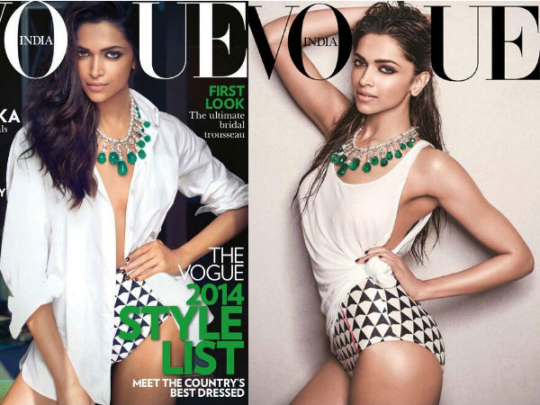 Deepika Padukone Adds Hotness To Vogue's June Cover