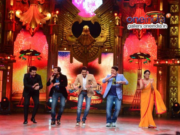 Saif, Anu, Riteish, Sajid And Mona On Entertainment Ke Liye...