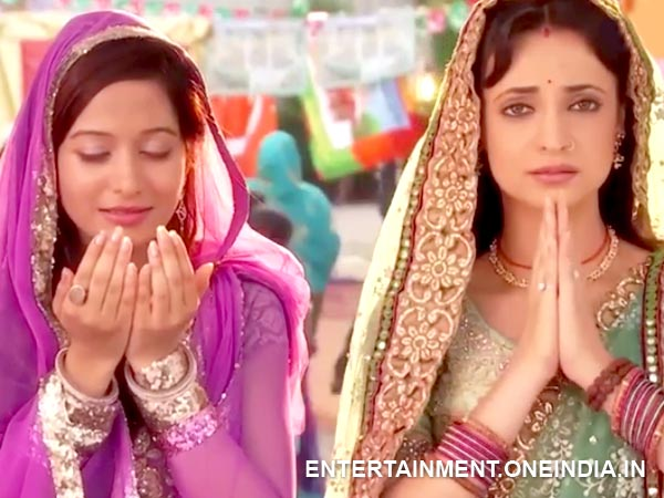 Aalia And Paro Pray Together