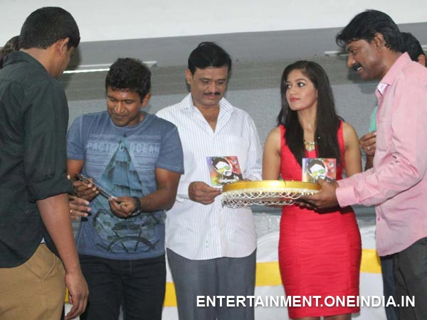Puneet Rajkumar Releasing The Audio