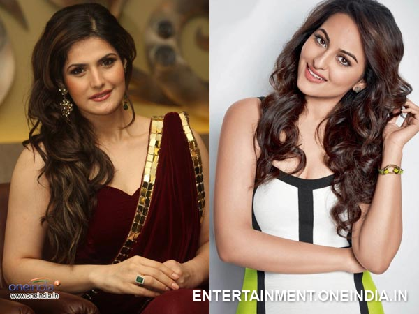 Zarine Khan and Sonakshi Sinha