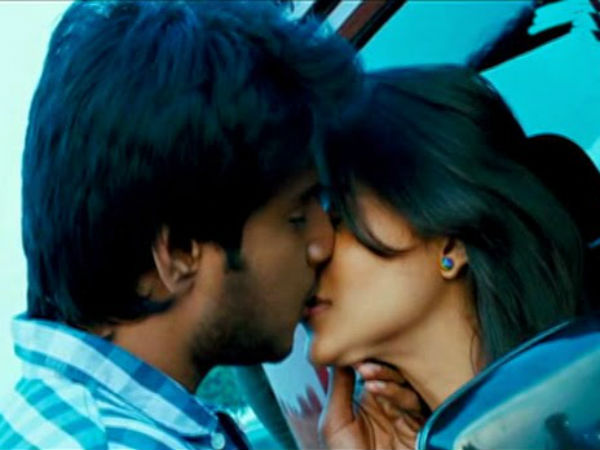 Sundeep-Regina's Lip-Lock In RLS