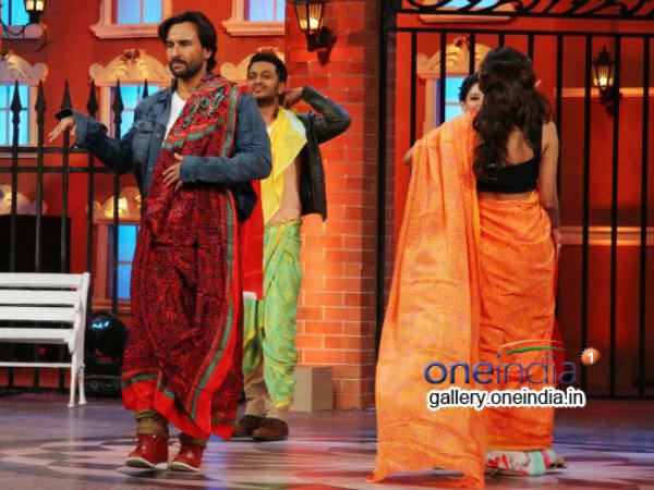 Saif Ali Khan Ramp Walk During Humshakals Promotion