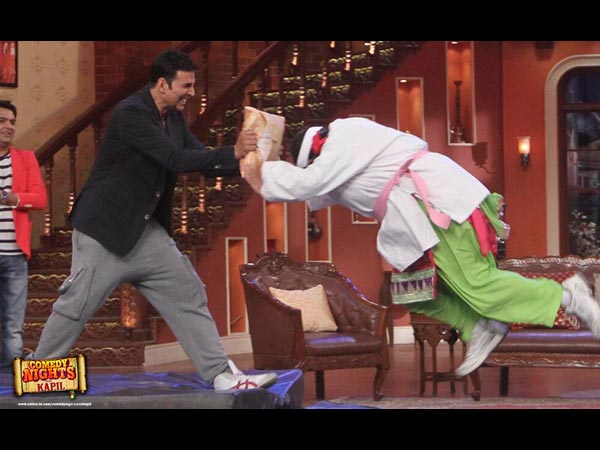 Akshay On Comedy Nights With Kapil