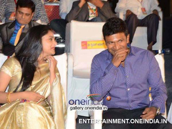 Puneet Rajkumar And Ramya