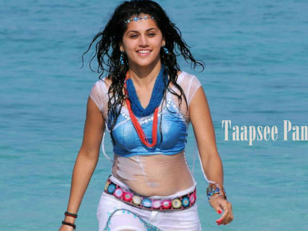 Taapsee Scared To Watch Her Own Movie!