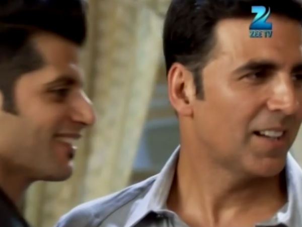Bakshi Is Aahil's Friend!
