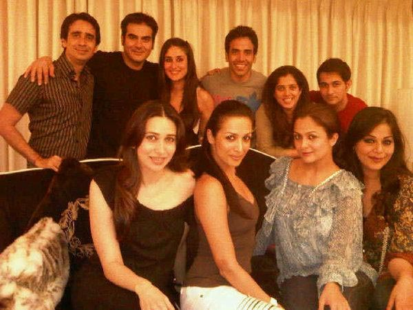 Salman's Family and Tusshar
