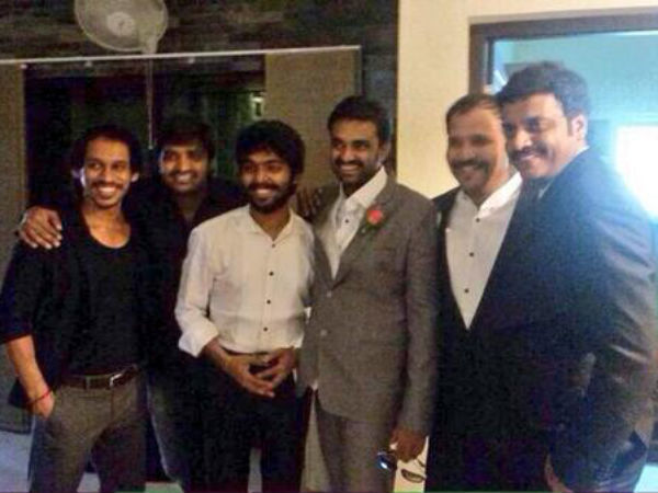 GV Prakash & Friends At Vijay-Amala's Engagement