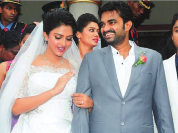 Amala Paul Walking Down The Aisle