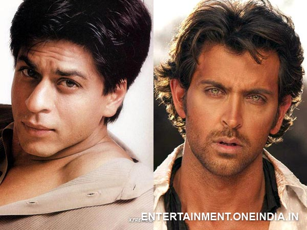 Shahrukh Khan and Hrithik Roshan