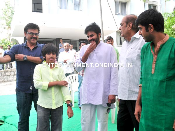 Venkatesh's Son Arjun's Bonding With Pawan Kalyan