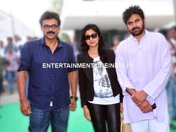 Pawan, Venkatesh With Shriya Saran