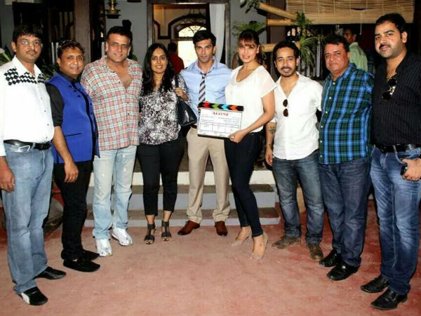 Karan And Bipasha At Grand Muhurat