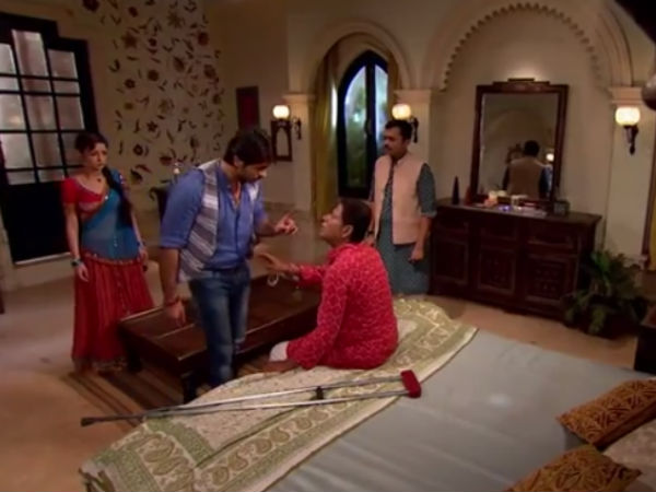 Rudra Informs Dilsher