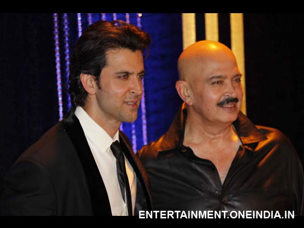 Rakesh Roshan and Hrithik Roshan-