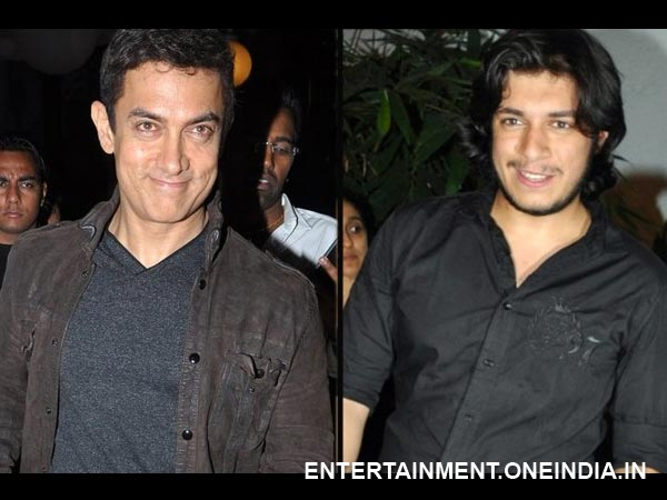 Aamir Khan and Junaid-