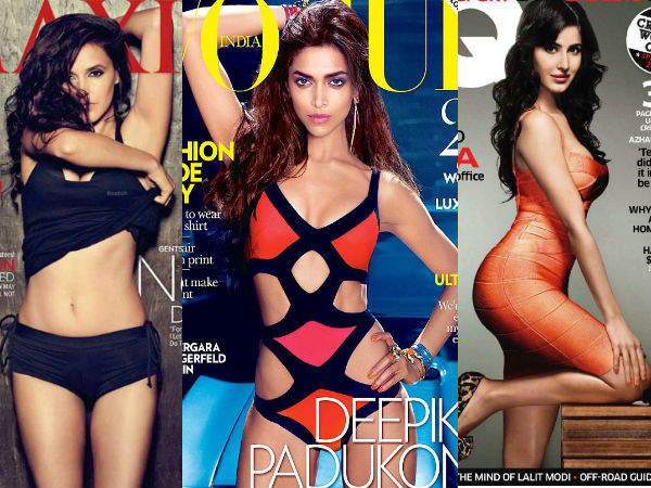 Hotter Side Of Bollywood Actresses On Magazine Covers