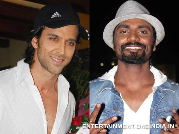 Hrithik Roshan and Remo Dsouza