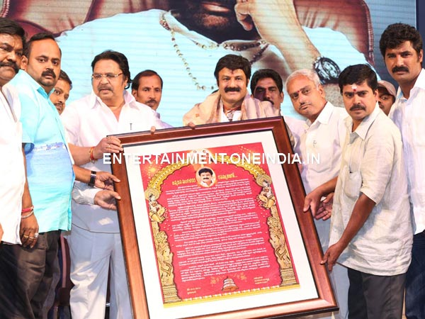 Balakrishna Receives Greetings From Fans