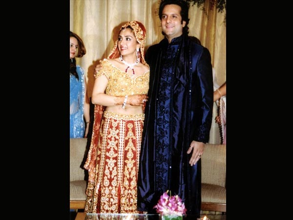 Fardeen Khan and Natasha Madhvani