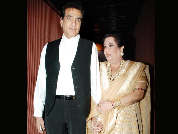 Jeetendra and Shobha