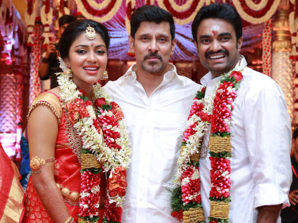 Amala Paul-Vijay With Vikram