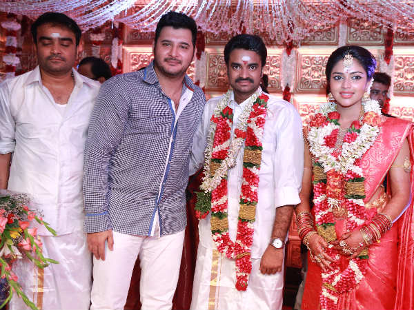 Abbas At Amala-Paul-Vijay's Wedding