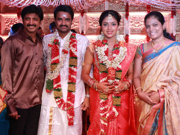 Jayam Raja At Amala Paul-Vijay's Wedding
