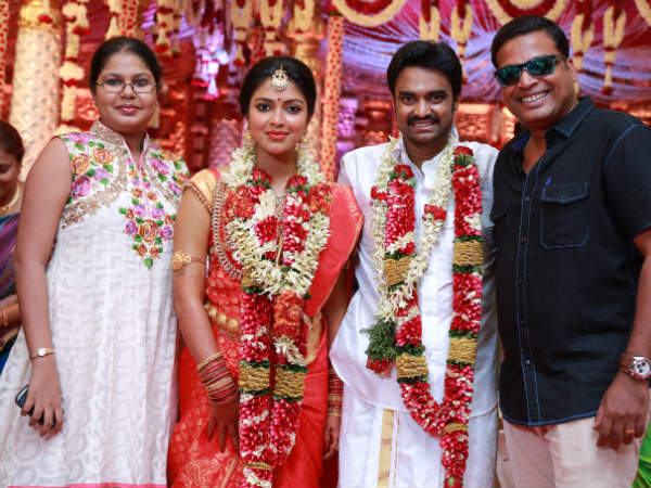John Vijay At Amala Paul-Vijay's Wedding