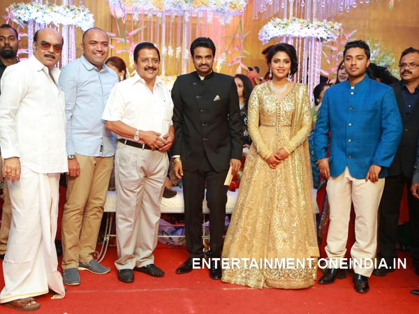 Sivakumar At Amala Paul-Vijay's Wedding Reception