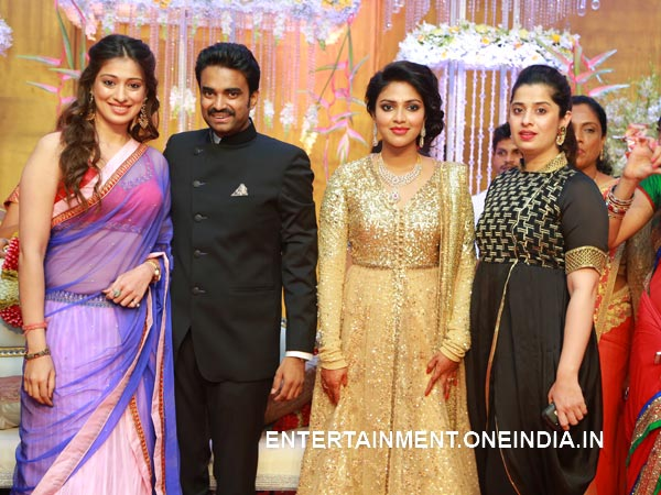 Lakshmi Rai At Amala Paul-Vijay's Wedding Reception