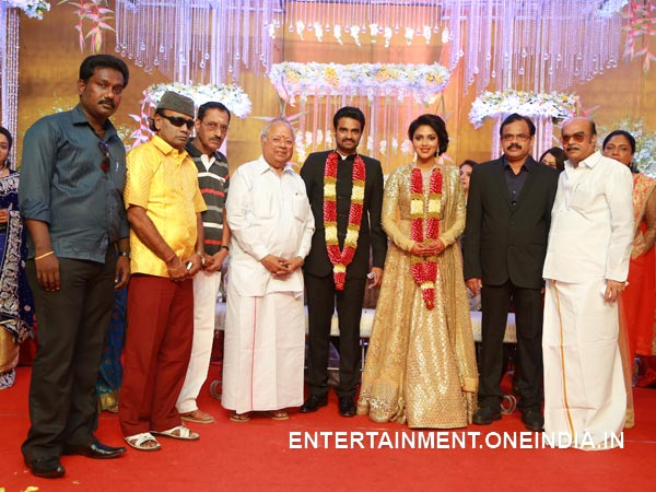 Guests At Amala Paul-Vijay's Wedding Reception