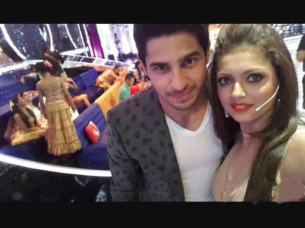 Sidharth With Drashti