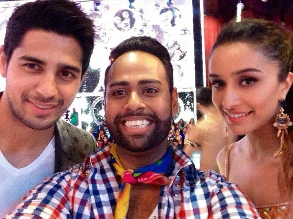Sidharth, Shraddha And Andy