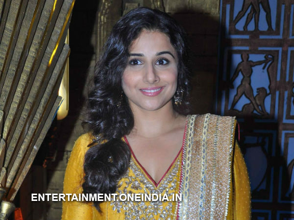 Vidya To Shoot For Comedy Nights With Kapil Sharma Today!
