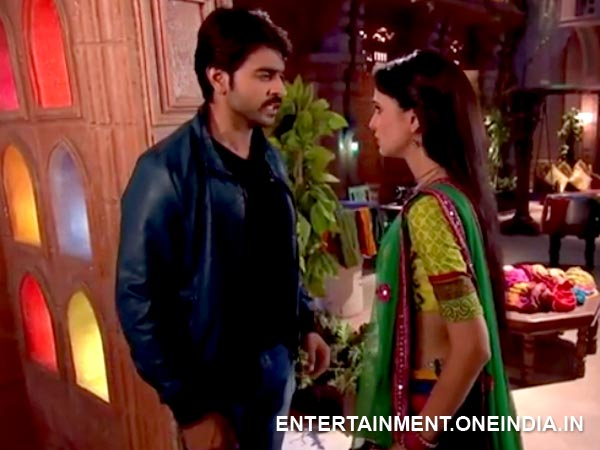 Paro Stops Rudra From Leaving