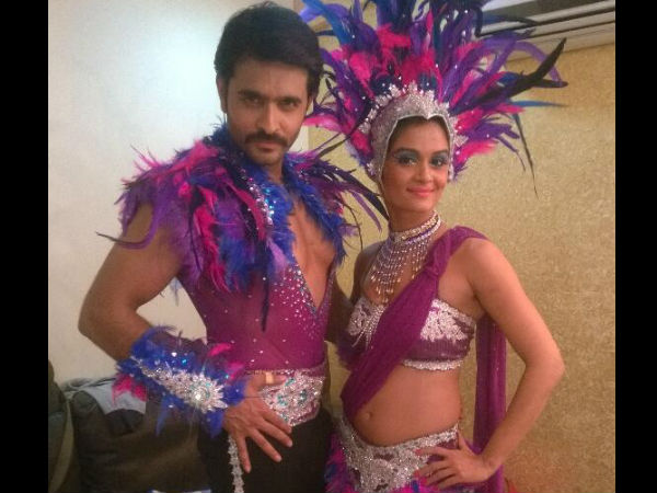 Ashish-Shampa's Tribal Look