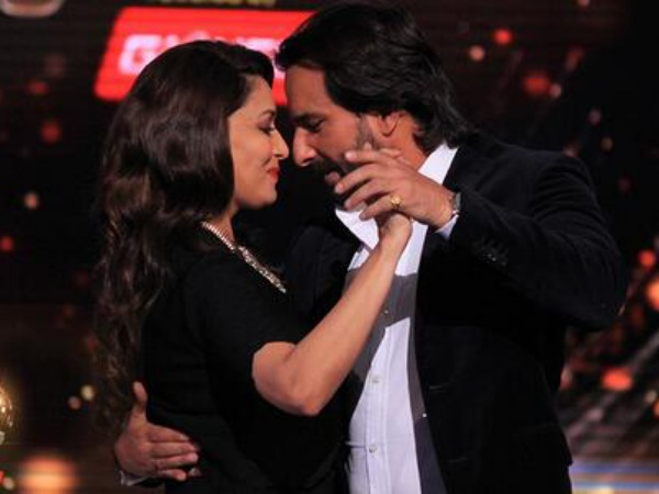 Saif Will Make Madhuri Blush
