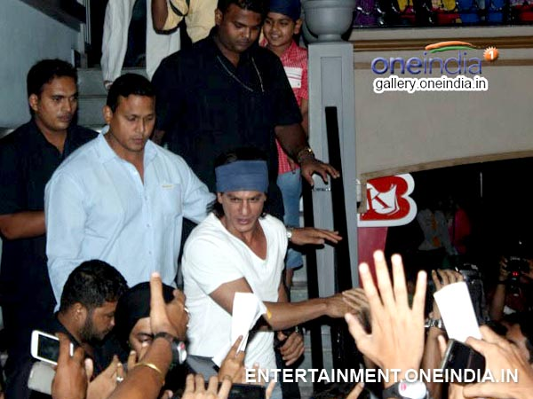 Shahrukh Khan Arrives