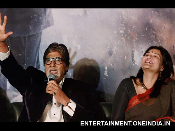 Amitabh Excited For Yudh