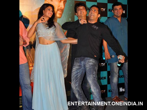 Salman & Jacqueline In Dance Mood