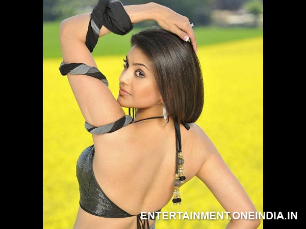 Kajal Aggarwal's Backless Pic From Telugu Movie