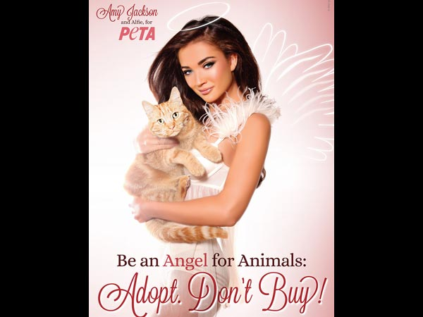 Amy Jackson In PETA Ad