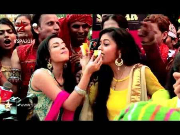 Shrenu-Devoleena Celebrate